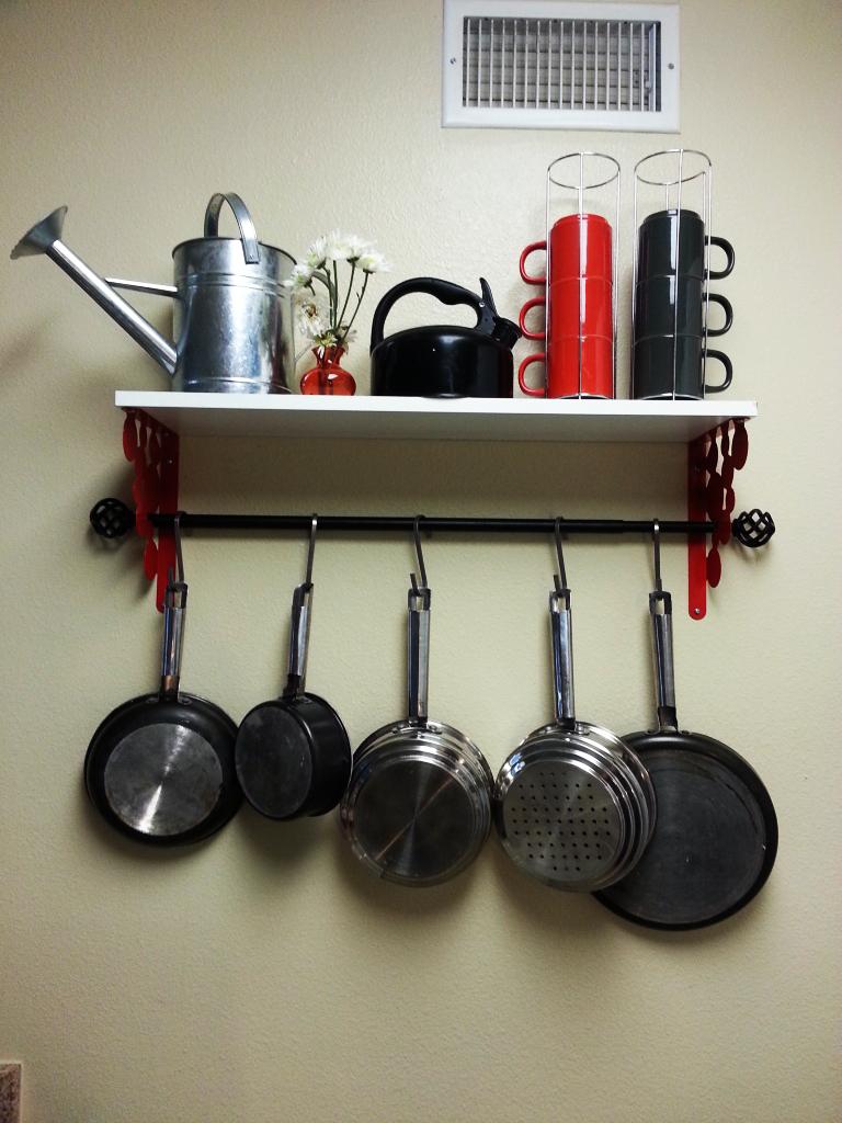 Ikea Pot Rack Hack ~ Get Home Decorating