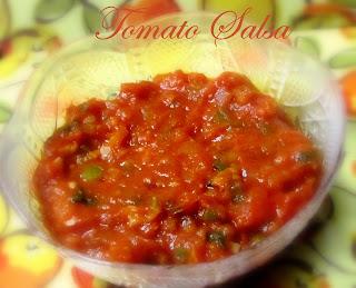 Mexican Mild Tomato Salsa