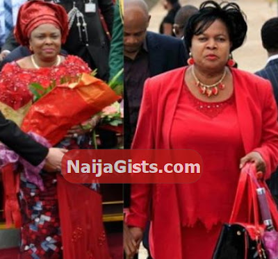 patience jonathan look alike abuja