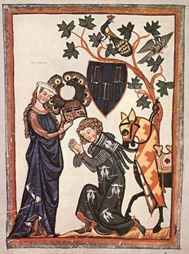 perceval la rencontre avec les chevaliers