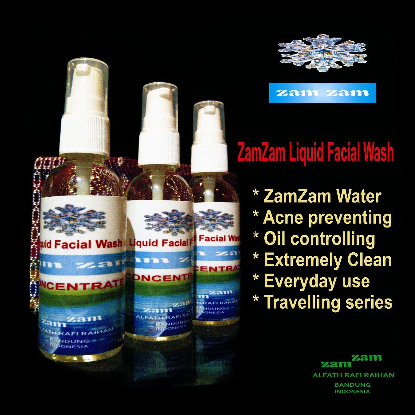 ZC - Facial Wash Concentrate (Sabun Wajah Zamzam)