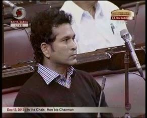 Rajya Sabha MP - Sachin Tendulkar