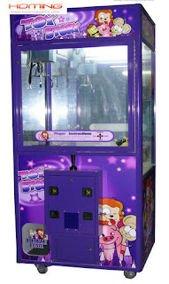 31' purple toy story crane machine