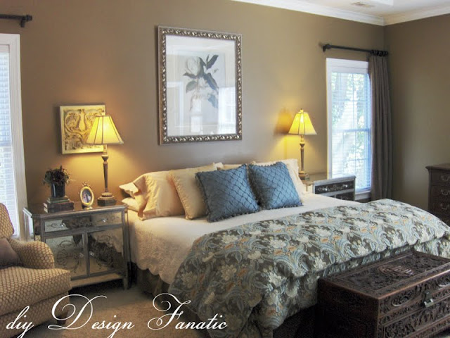 Diy design fanatic decorating a master bedroom on a budget for Master bedroom ideas on a budget