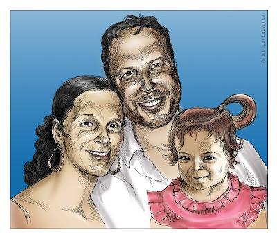 portrait de famille américaine