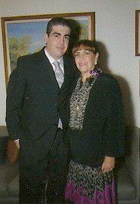 Loly y su hijo Alex.