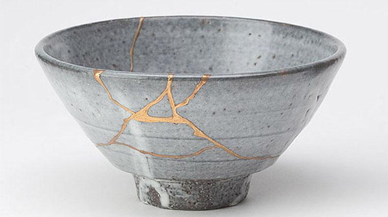 Kintsugi: El arte de las piezas rotas
