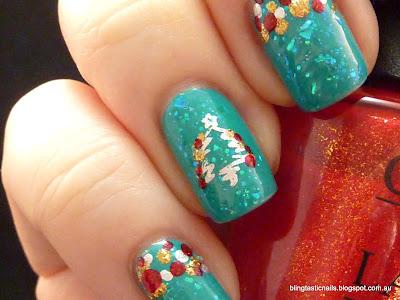 Christmas Tree stamping