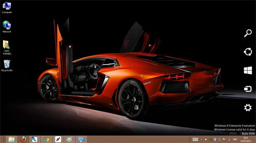 Lamborghini Aventador Theme For Windows 7 And 8
