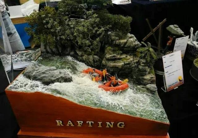 diorama model build by yamamoto hideo