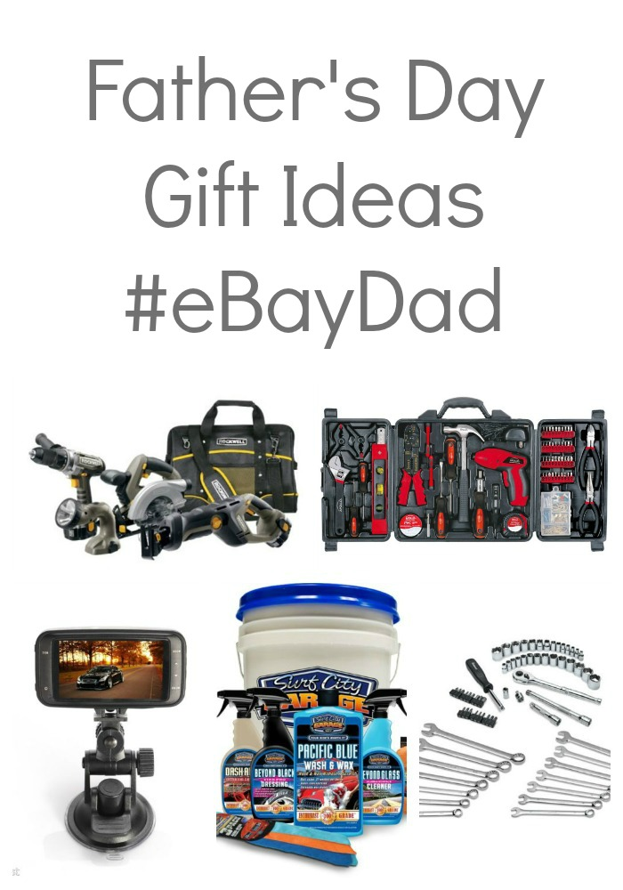 Father's Day gift ideas for DIY dads and grease monkeys! #eBayDad