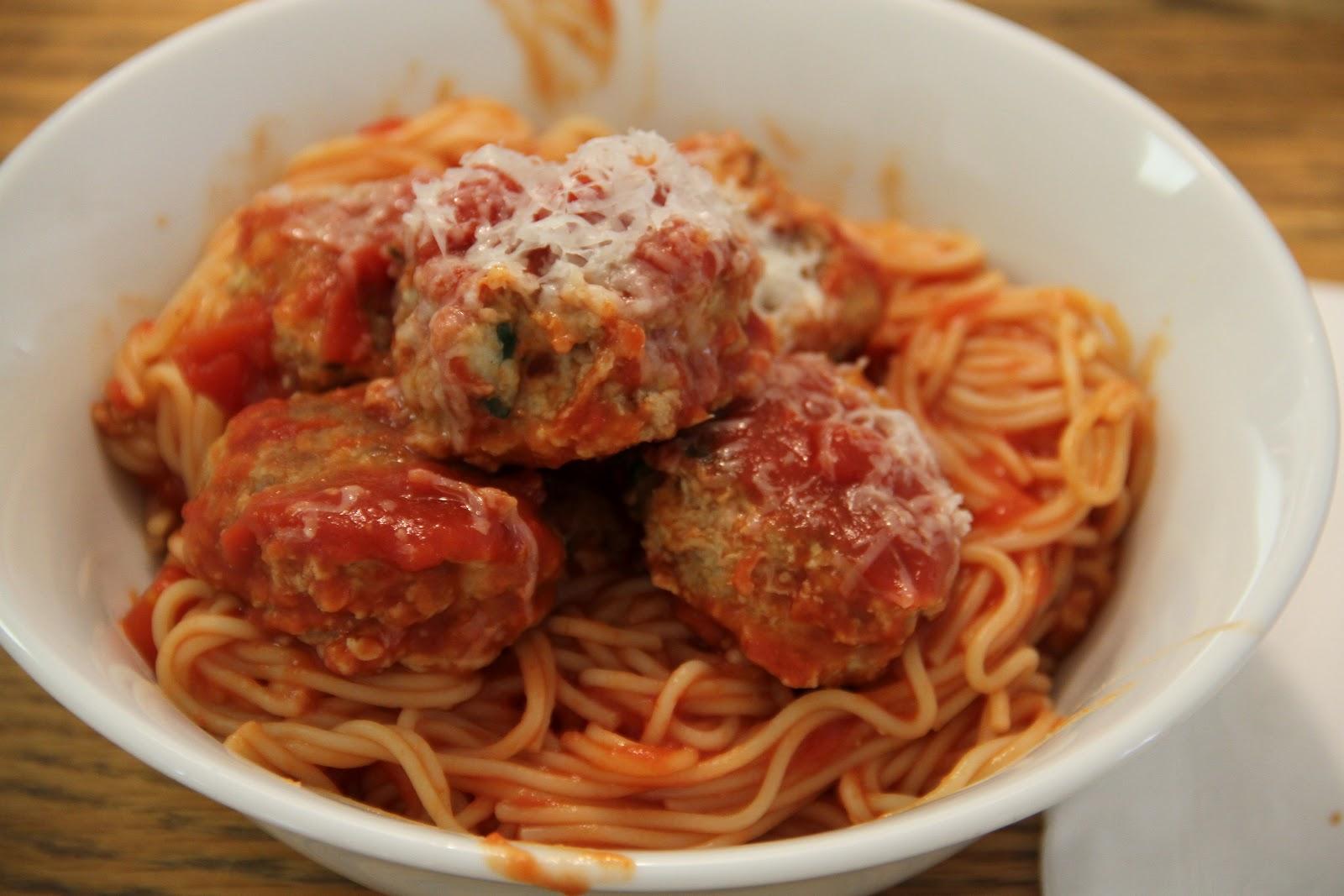 The Coffee Breaker: Easy and Delicious Spaghetti and Meatballs Giada De Laurentiis Parents