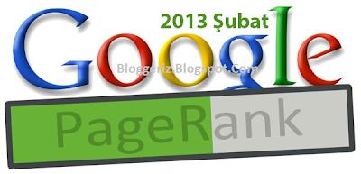 Google Pagerank Güncellemesi ve Düşüşler Şubat 2013