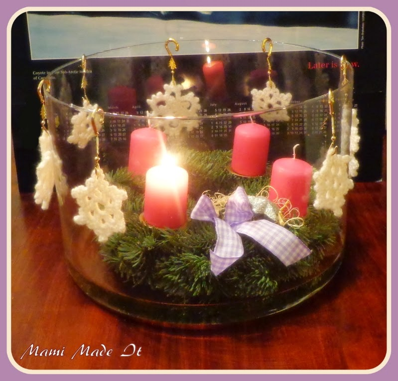 Adventkranz - Advent wreath