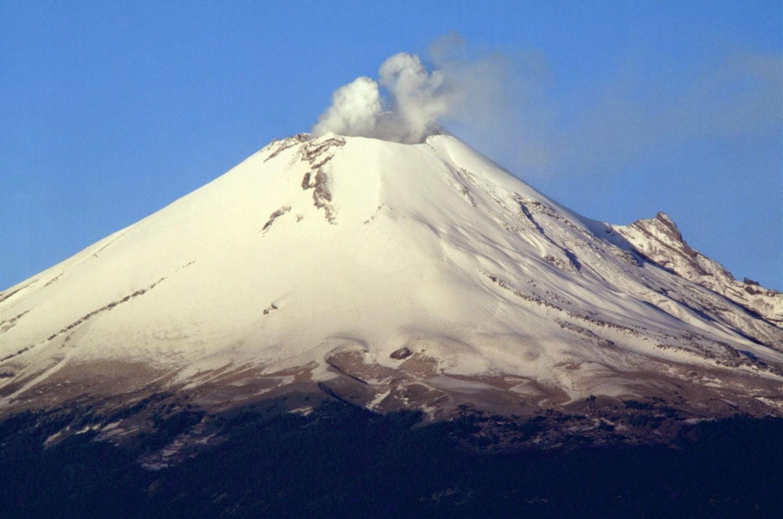 Volcan Popocatepetl, México