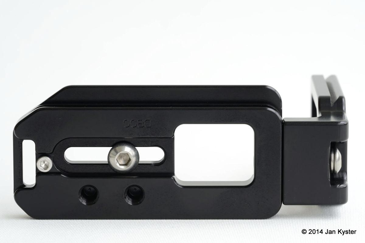 Hejnar ND800 Modular L Bracket bottom view