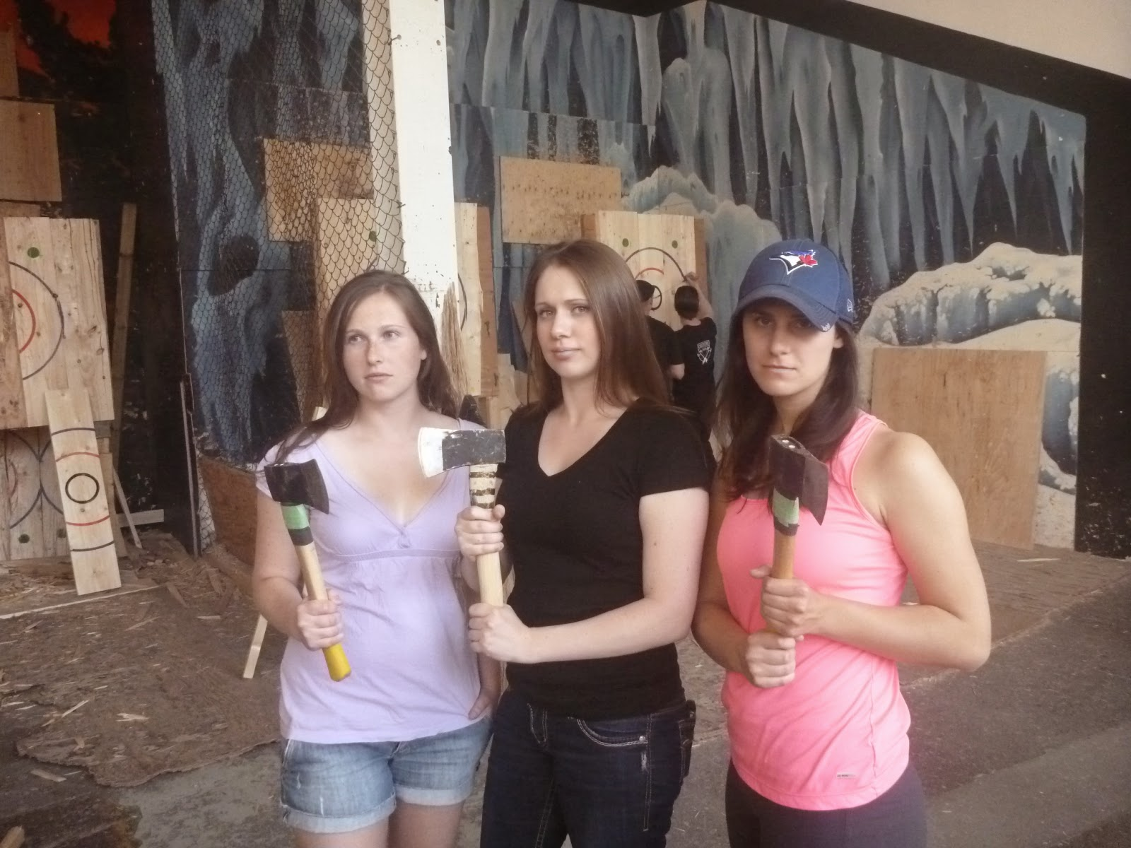 cook wine and thinker backyard axe throwing league u2013 our day at