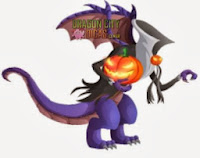 Dragão Halloween
