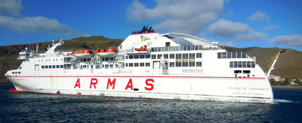 Canary Islands Ferry Timetable