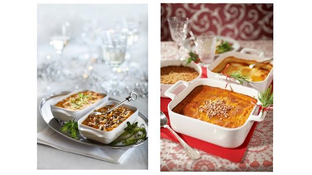 Suunnitelmia joulun ruokien suhteen