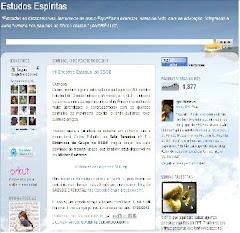 Recomendamos o acesso ao Blog Estudos Espíritas