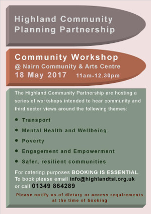 Community Workshop 18th May