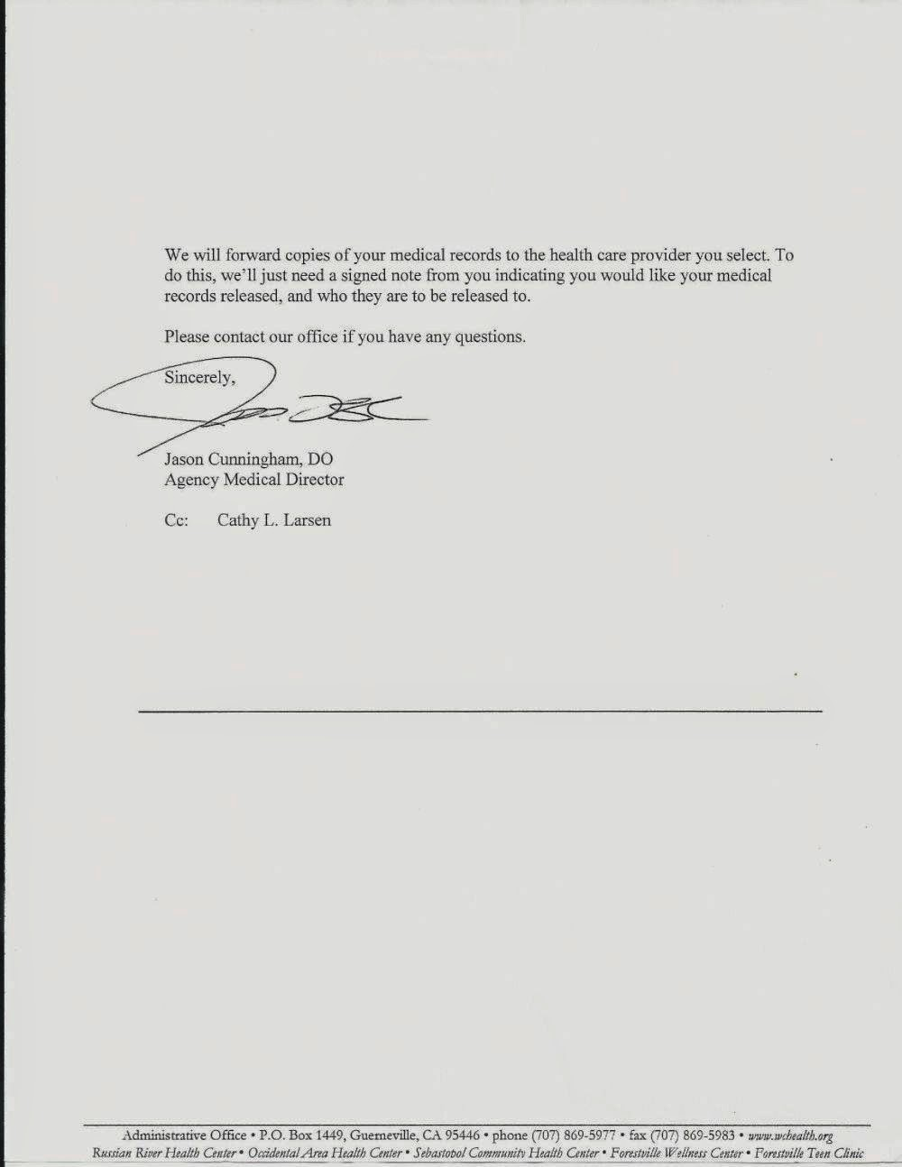 termination letter sample misconduct patient dismissal letter for ...