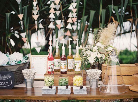 summer fiestas DIY Italian soda bar