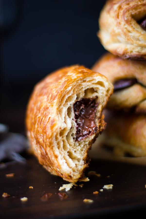 The Bojon Gourmet: Rye Flour Pains au Chocolat (Chocolate Croissants)