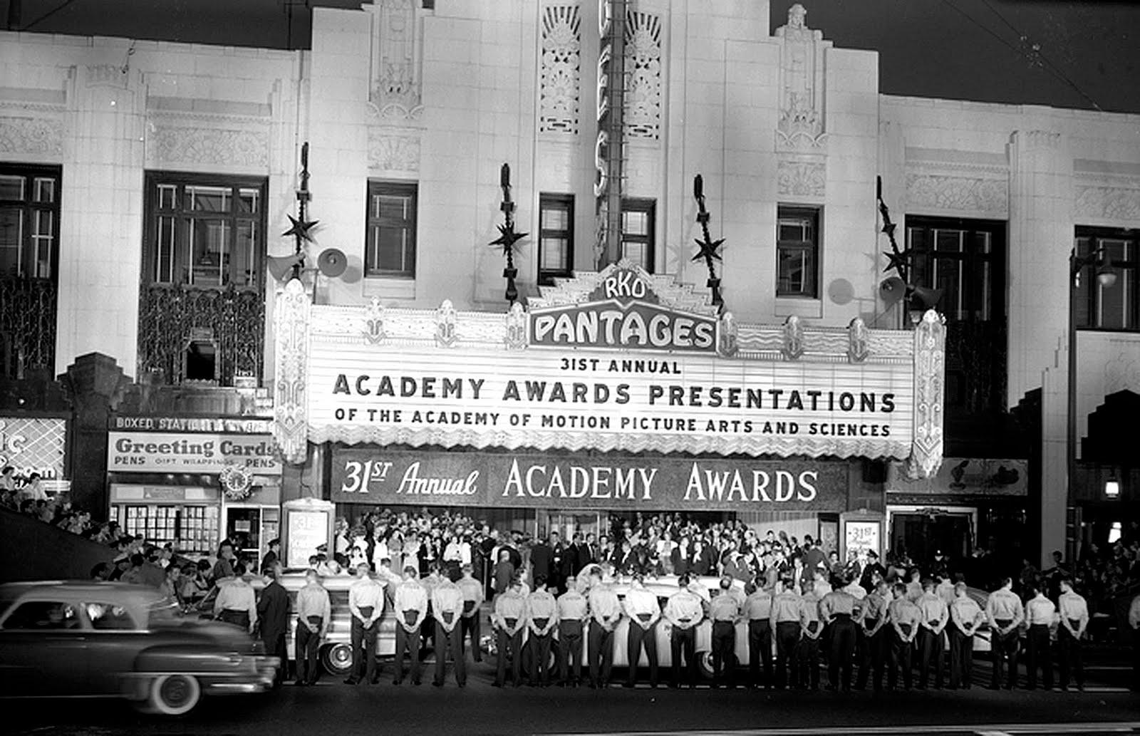 ... Domain Clip Art Photos and Images: 31st Academy Awards (Oscars) 1959