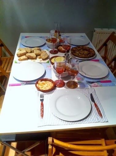 Home made tapas