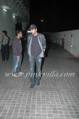Ranbir Kapoor and Ayan Picture