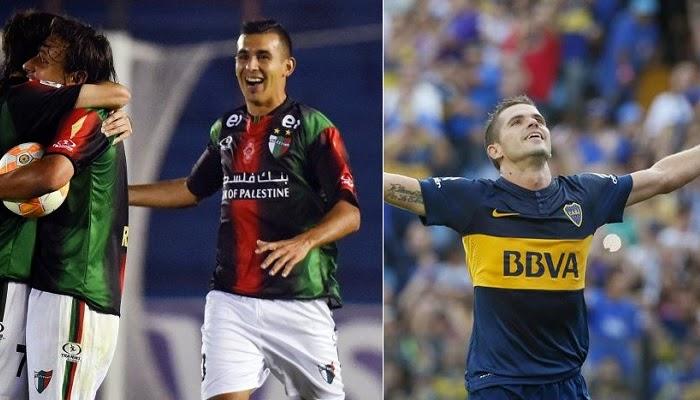 Boca Juniors vs Palestino en vivo