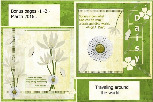 March 2016 -Bonus pages1-2-Traveling around the world.