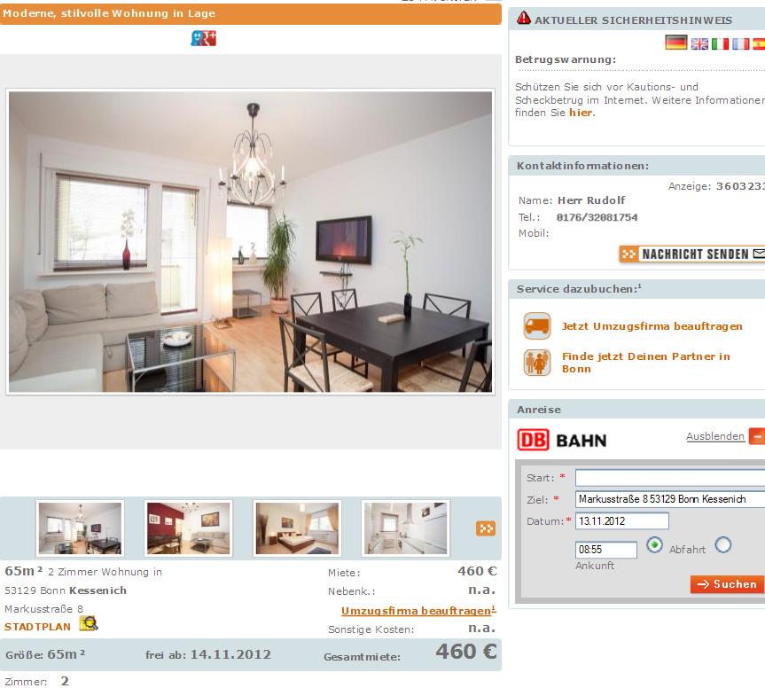 Schöne Wohnung Voll Möbliert 2 Zimmer 65m