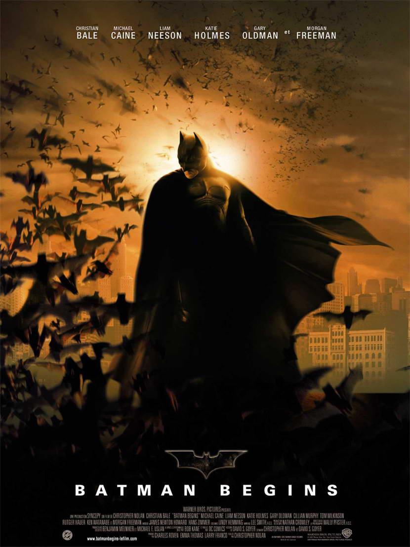 Batman Begins 2005 El Mejor Comienzo