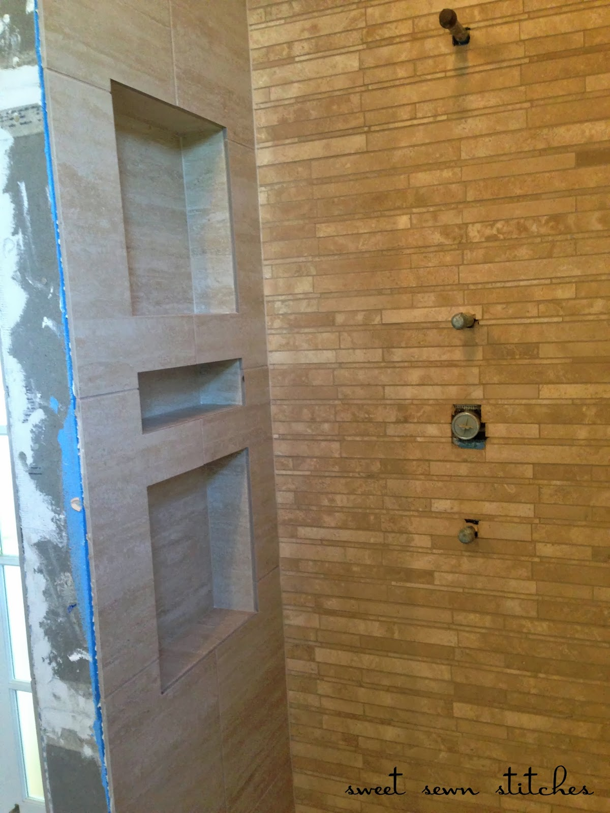 Sweet Sewn Stitches Bath Shower Reno Part 3