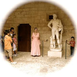 Castillo de Bellver niños