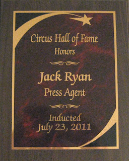 Jack's Plaque