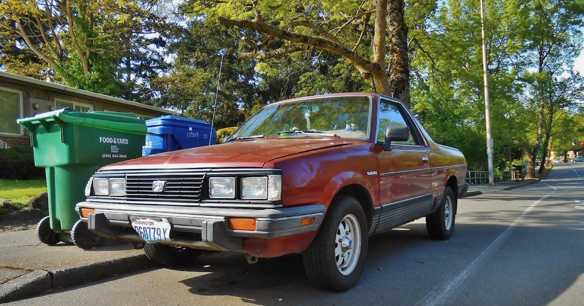 Seattle 39 s parked cars 1984 subaru brat