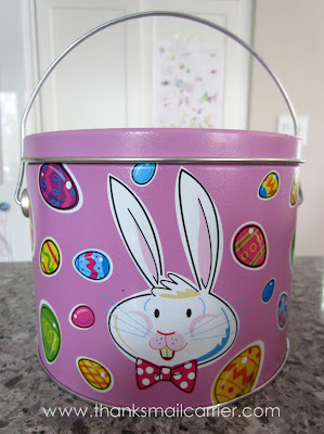 Easter tin