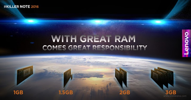 Lenovo Teases K4 Note Smartphone with 3GB RAM
