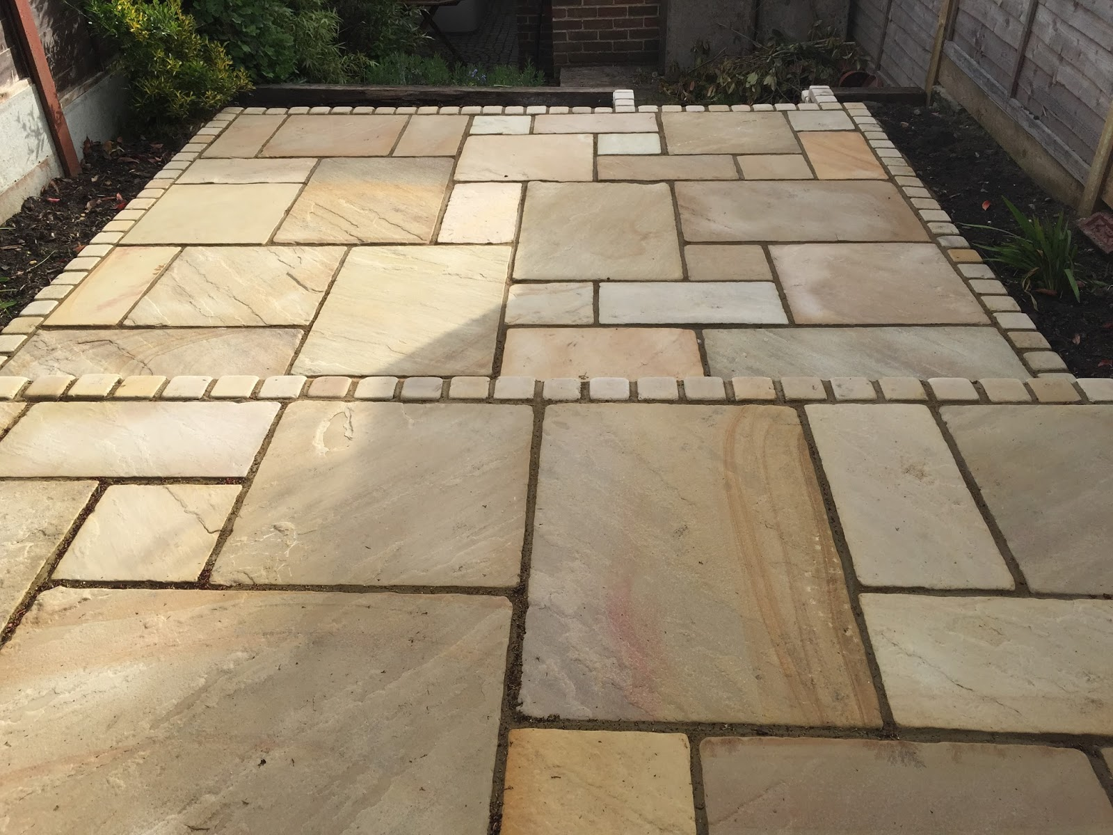 Granite Stone Sandstone : To tumble or not a natural stone paving