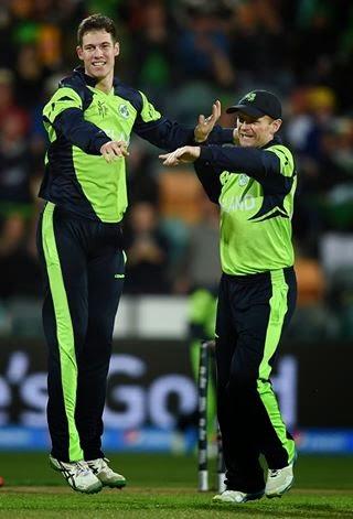Ireland beat Zimbabwe by 5 runs