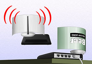 Cara Memperkuat Sinyal Wifi dengan Kaleng Bekas