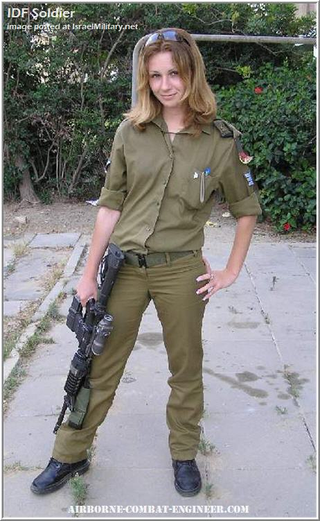 Israeli Women Army Soldiers