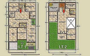 desain rumah minimalis 2 lantai type 45 design rumah