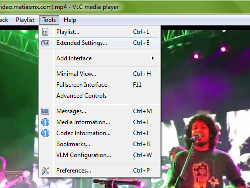 How to rotate a video in vlc player world tech 3 under extended settings click on video effects ccuart Choice Image