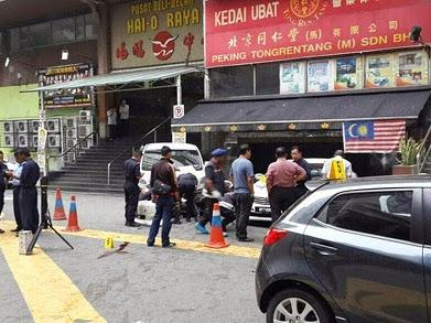 Cabaran 30 Entry : Hari 25 : Berita Terkini : Letupan di Bukit Bintang