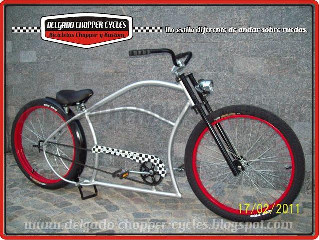 Bicicleta Kustom Kompact  Hot Rod - DCC